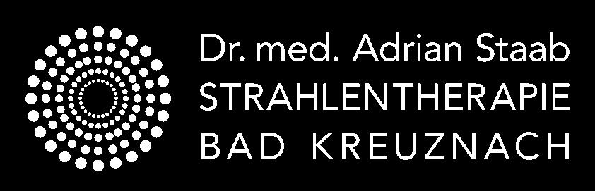 Logo Dr. med. Adrian Staab weiß