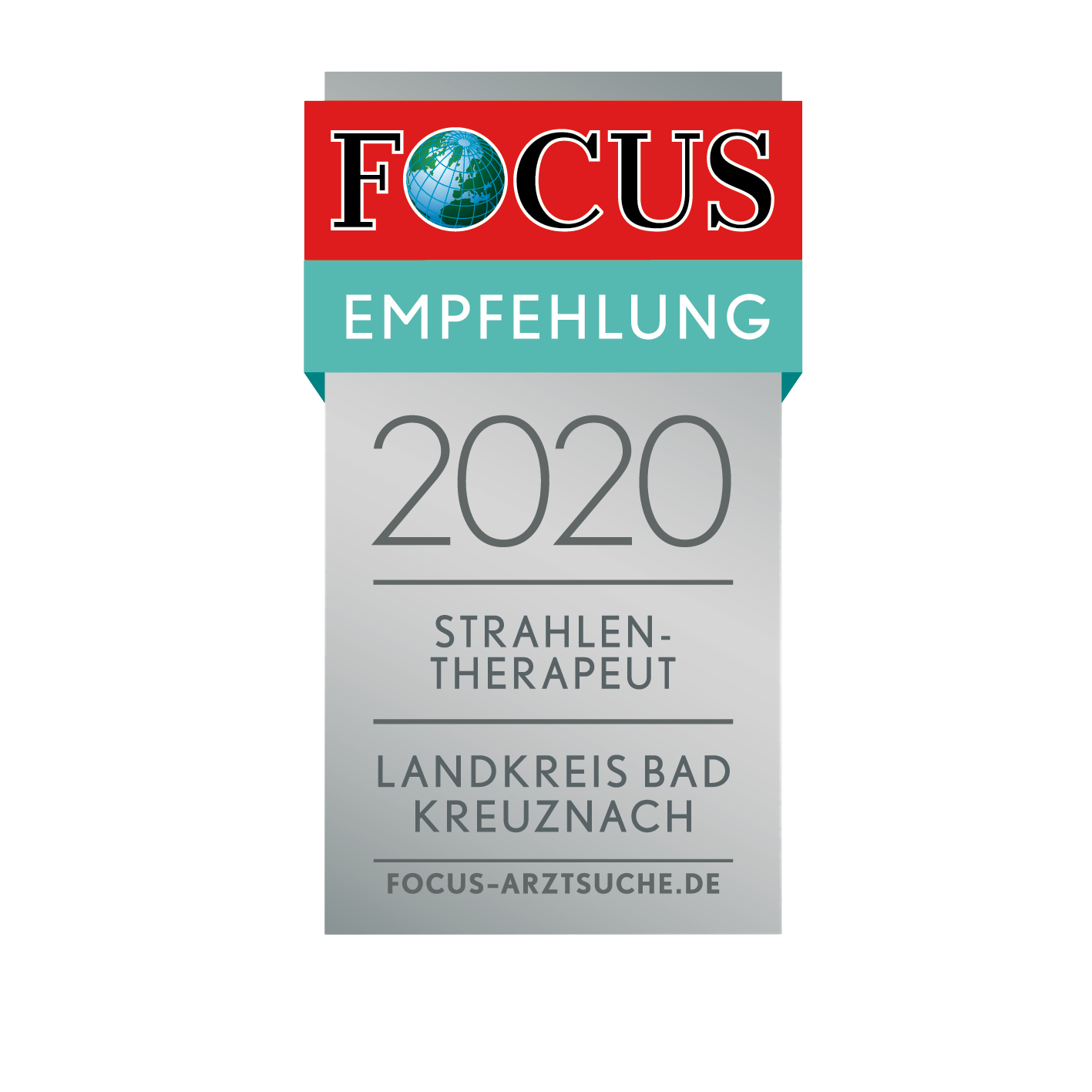 Focussiegel 2020 Strahlentherapie